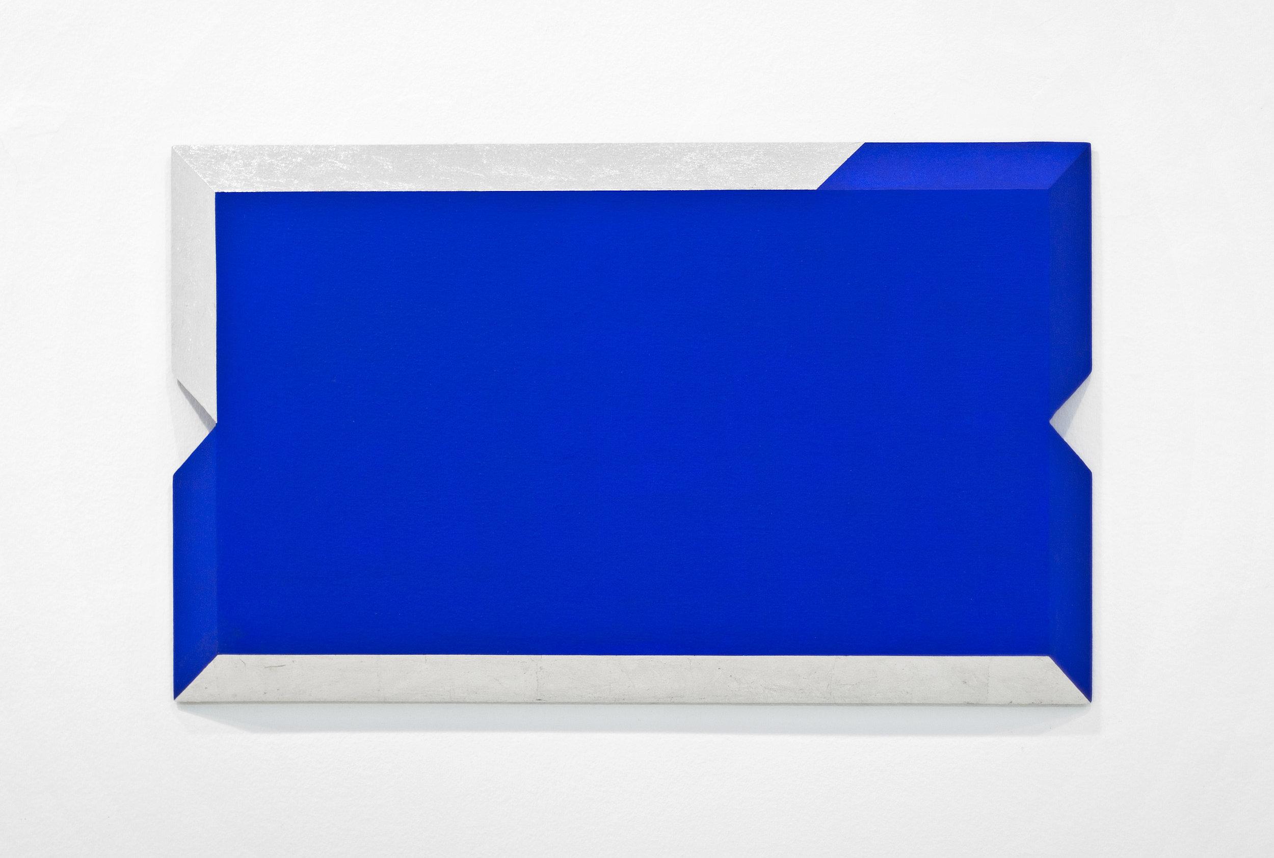 akril, aluminij, les, 50 x 82 cm, 2001