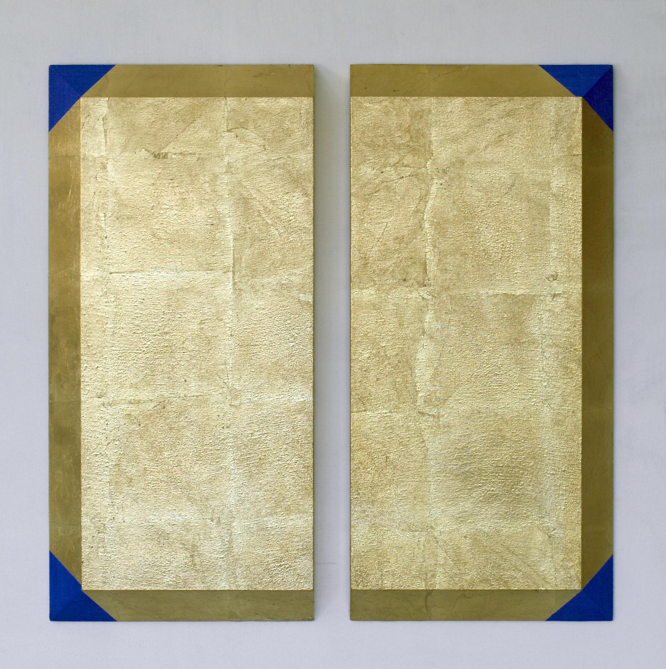 akril, medenina, les, 70 x 70 cm, 2001