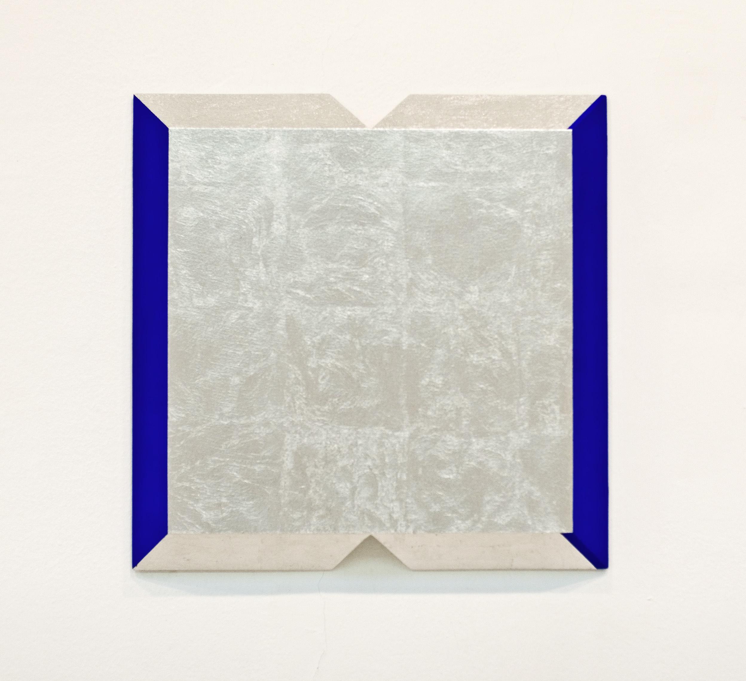 akril, aluminij, les, 70 x 70 cm, 2001