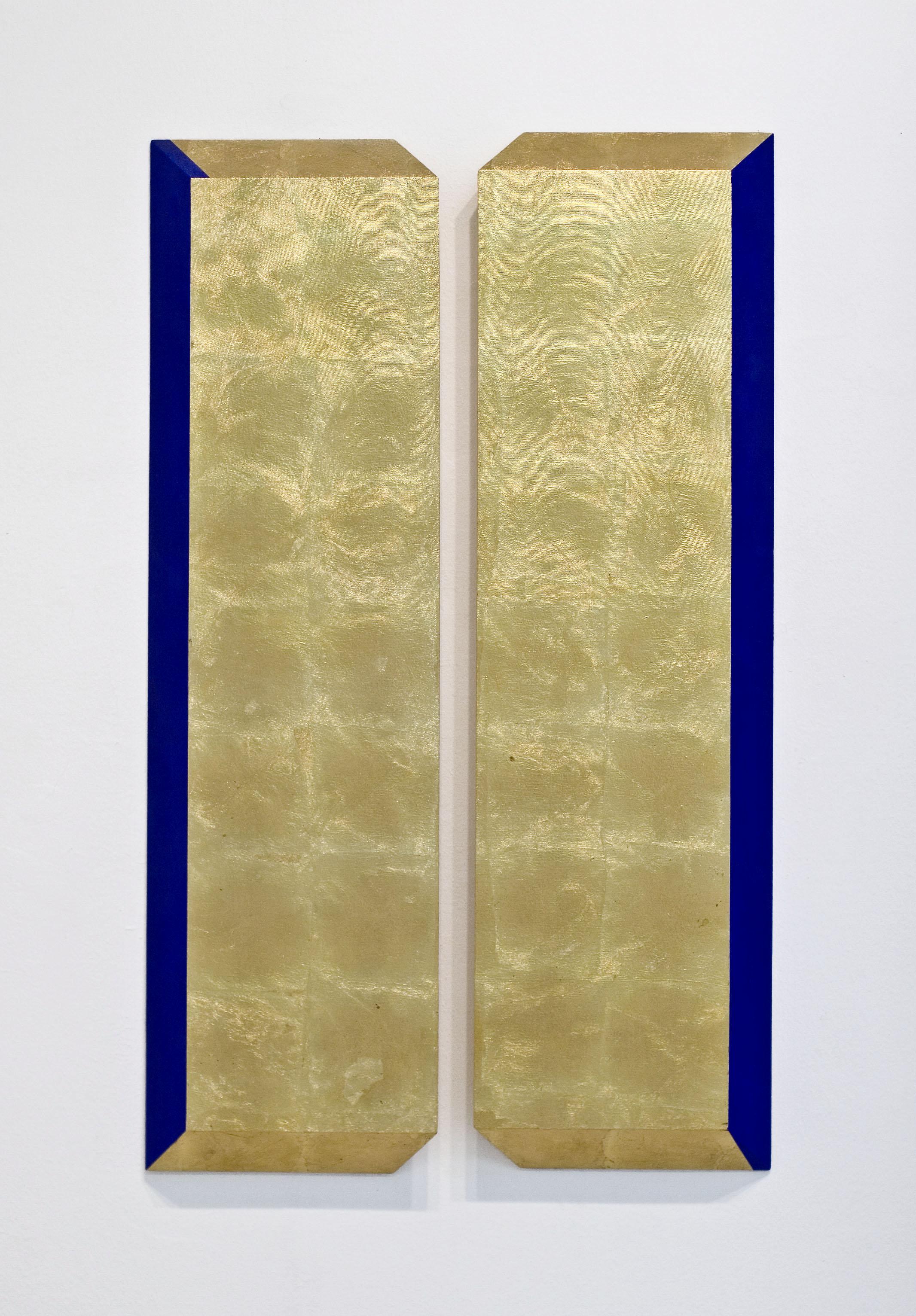 akril, medenina, les, 1125 x 75 cm, 2001