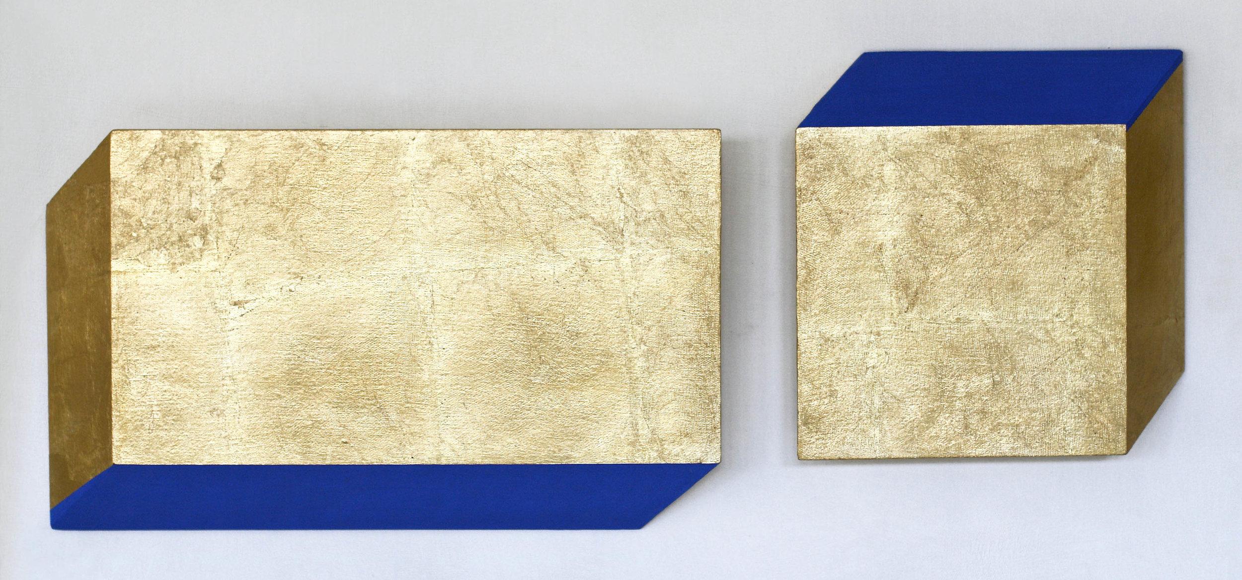 akril, medenina, les, 45 x 113 cm, 2001