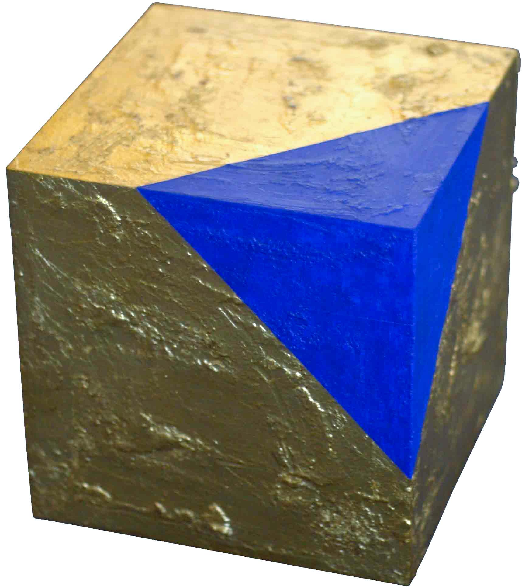 akril, pozlata, les, 20 x 20 x20 cm, 20001