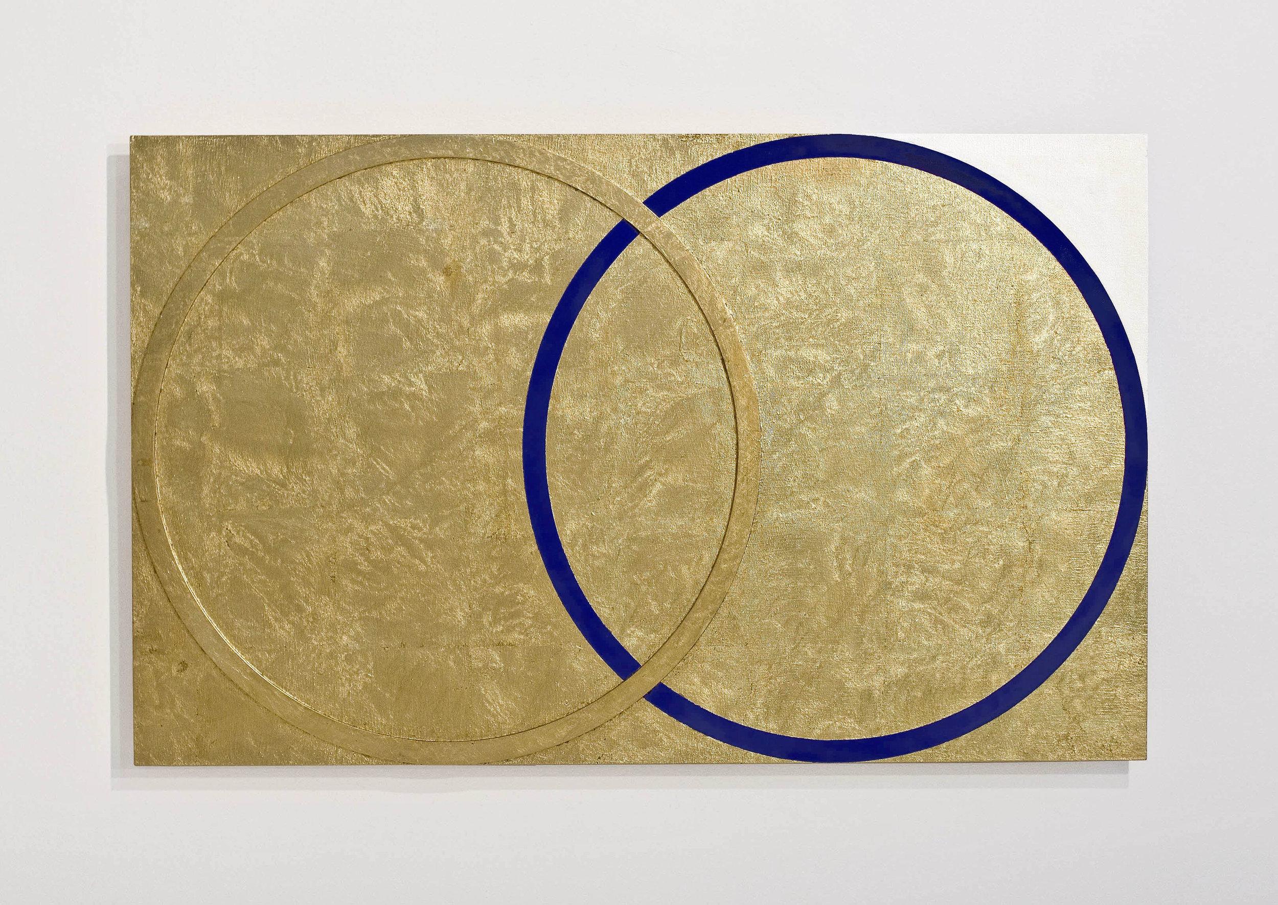 akril, medenina, les, 75 x 120 cm, 2000