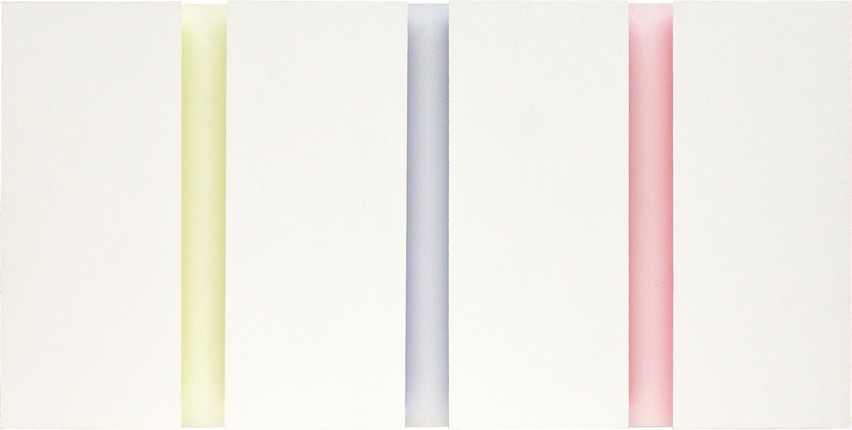 akril, les, 40 x 80 cm, 2002