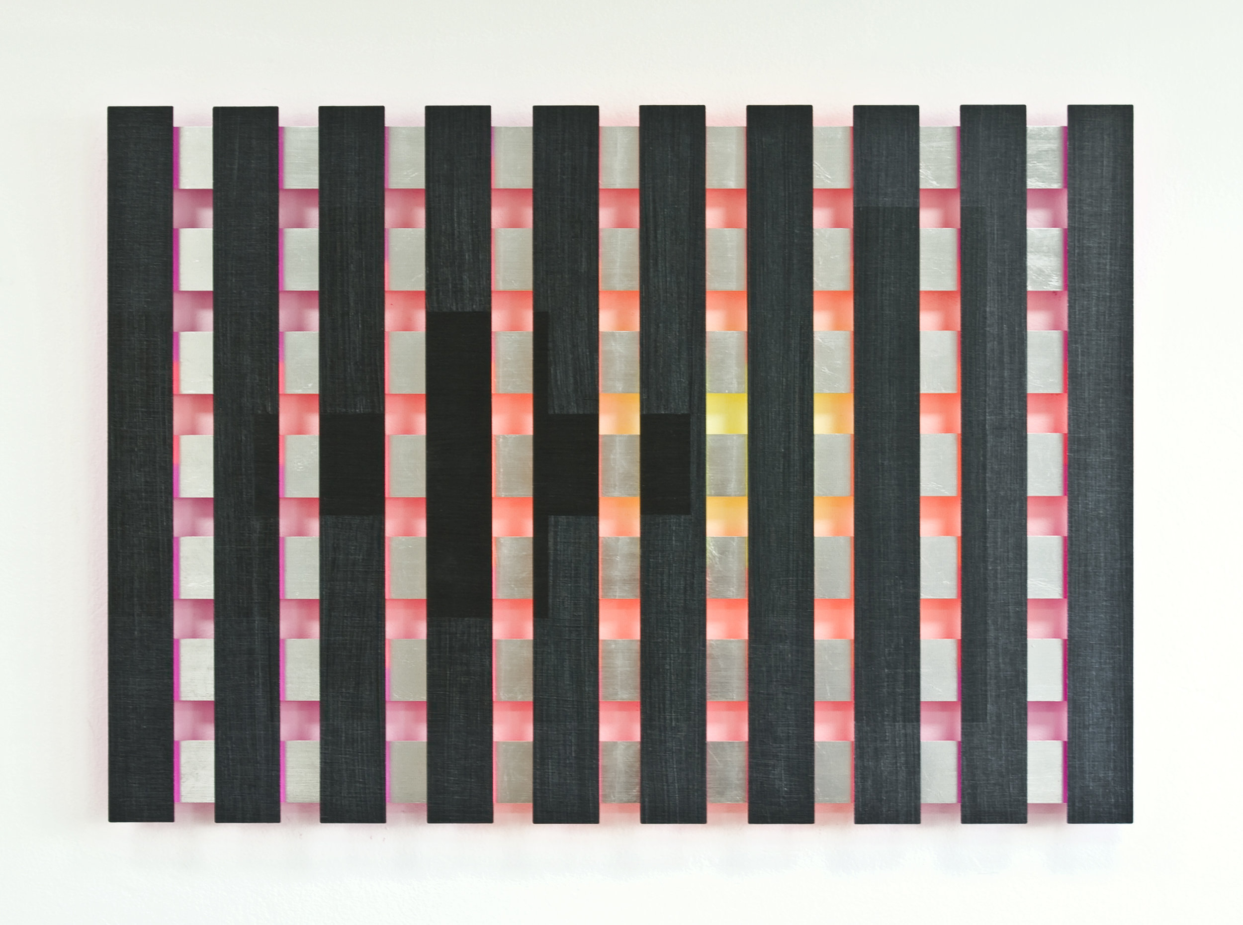 akril, les, 83 x 125 cm, 2009