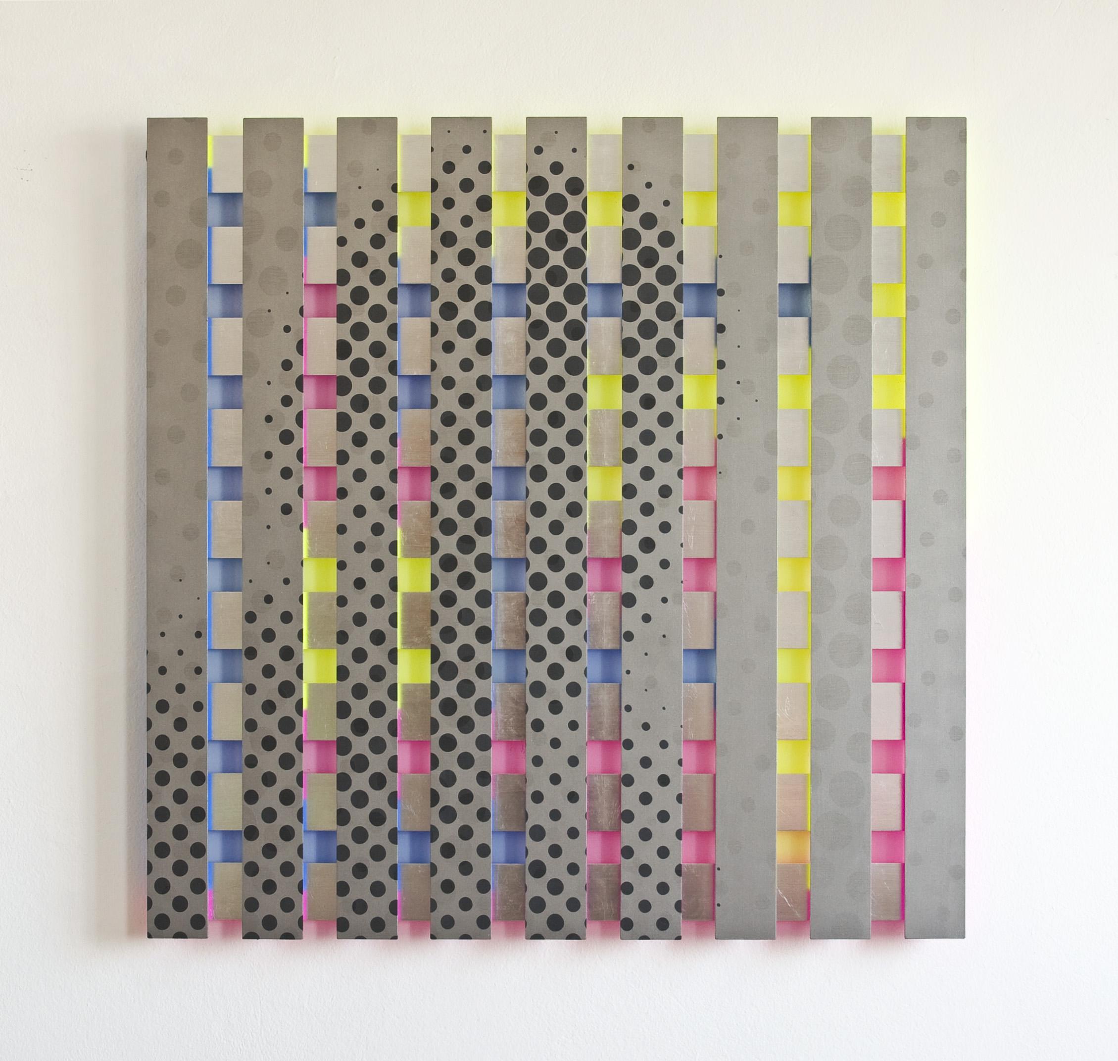 akril, les, 125 x 125 cm, 2010