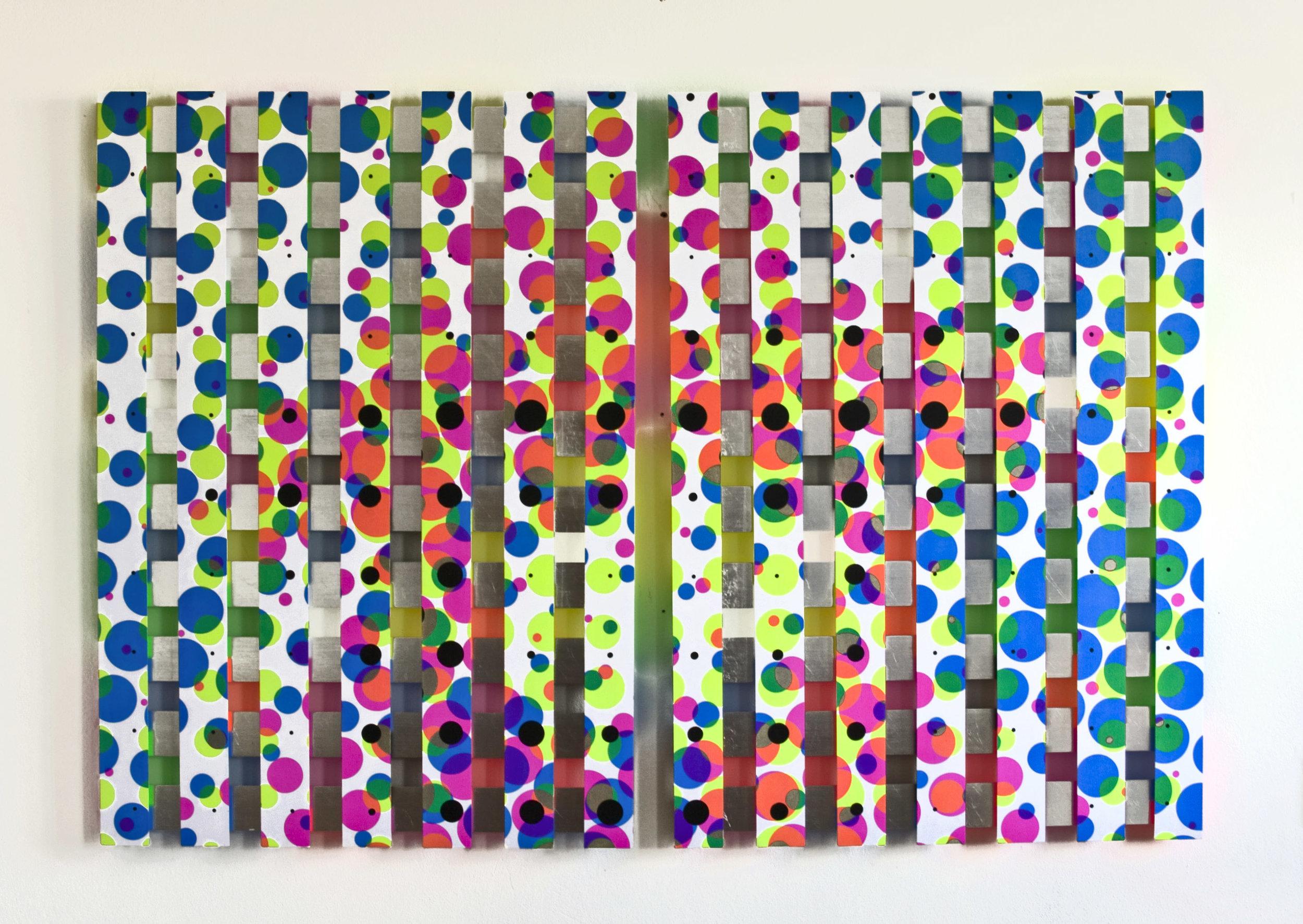 ZALA akril, les, 83 x 125 cm, 2012