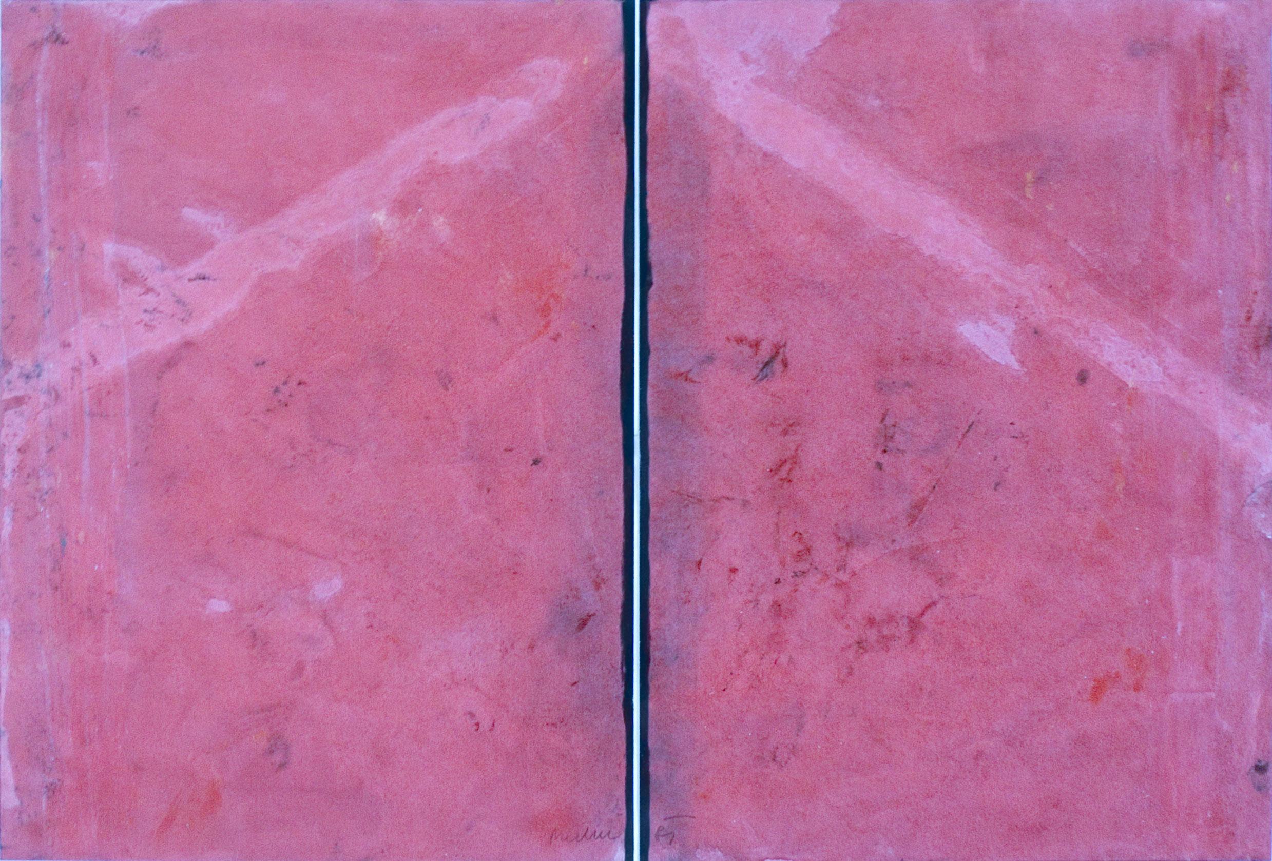 akril, papir, 70 x 100 cm, 1983