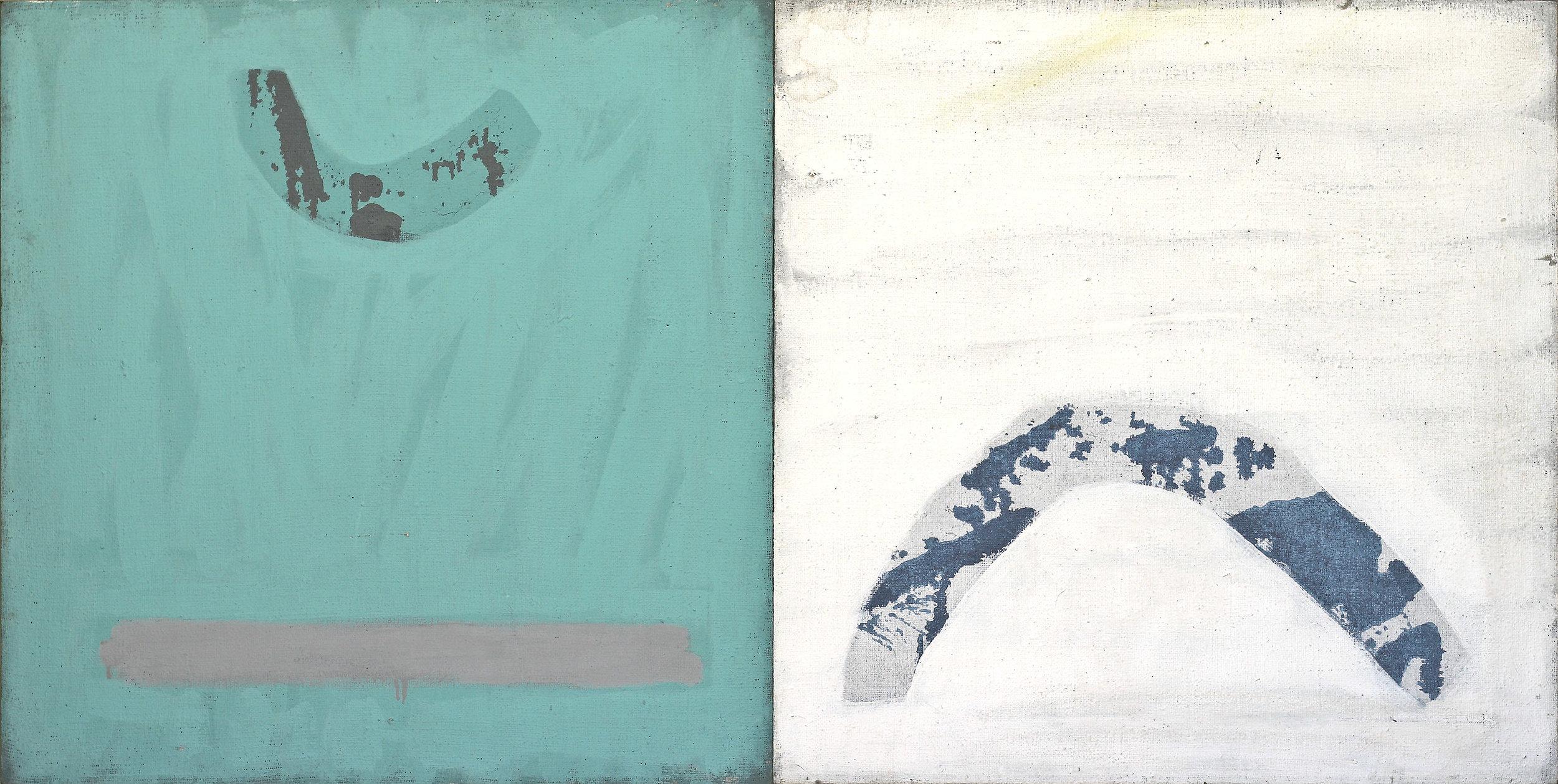akril, platno, 70 x 140 cm, 1983