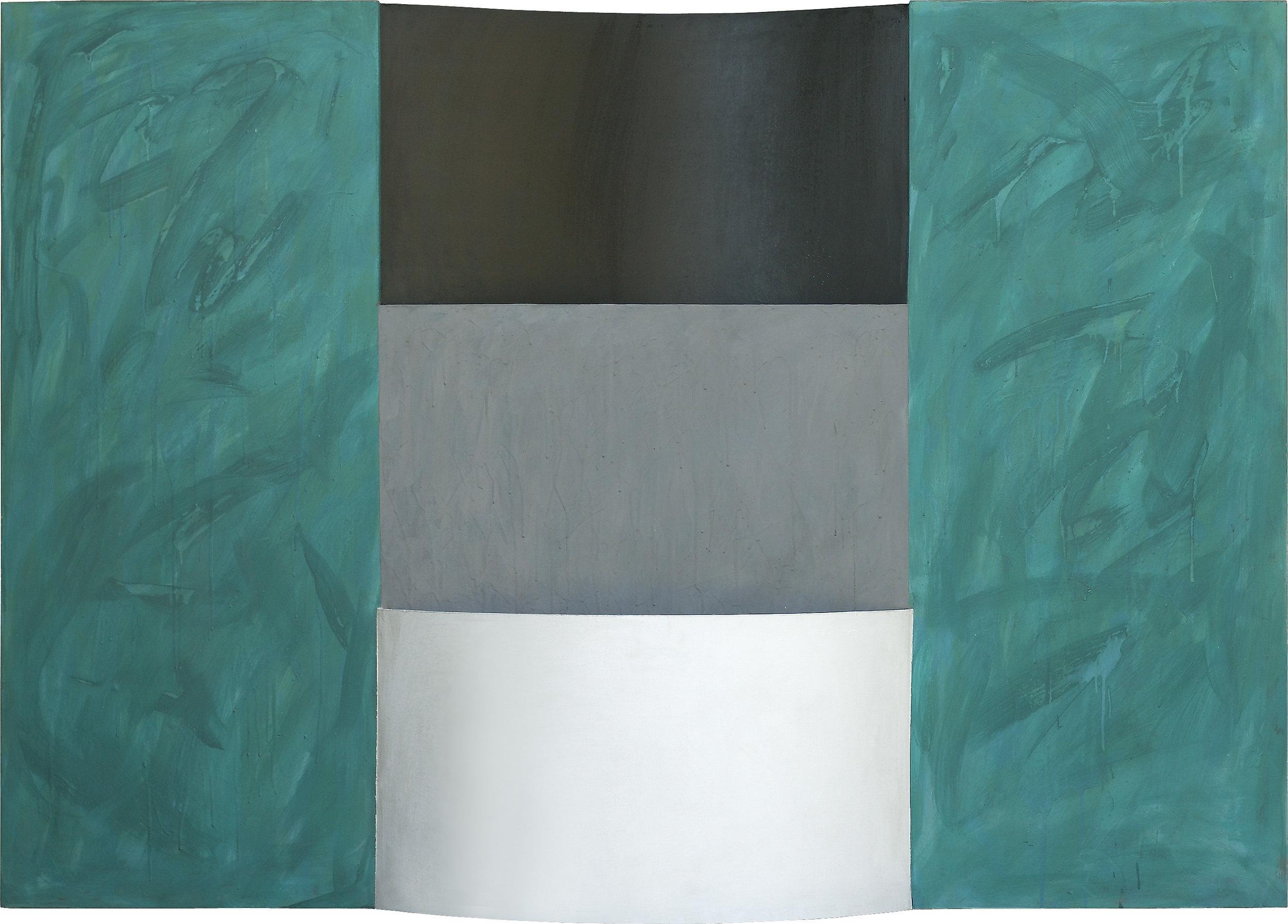 akril, les, 120 x 170 cm, 1984
