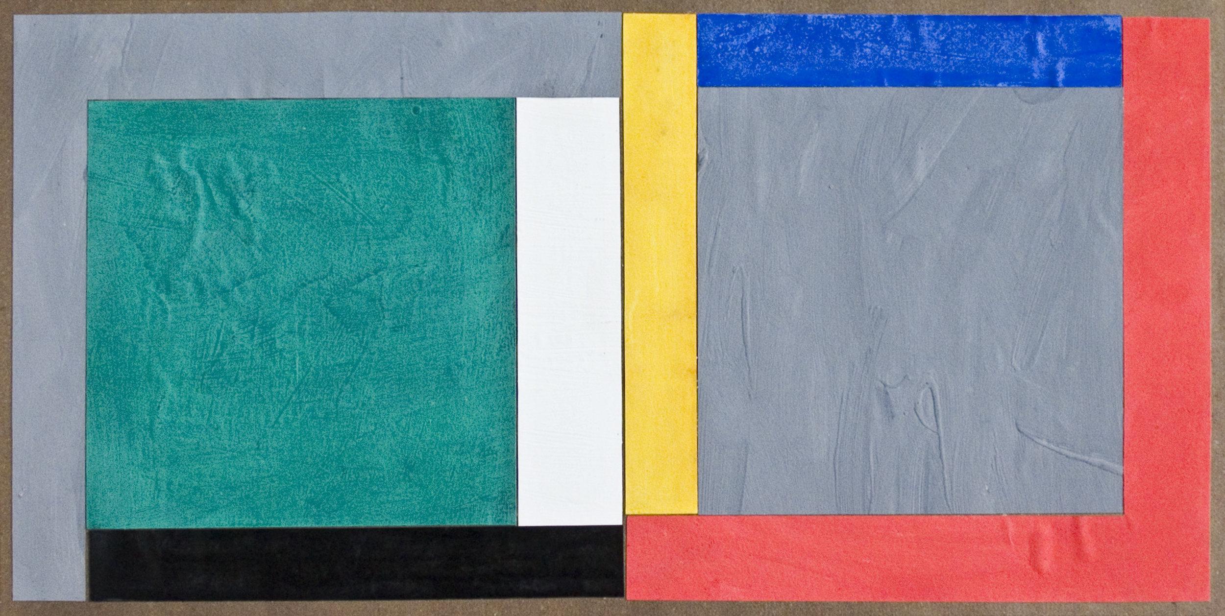 akril, papir, 100 x 50 cm, 1982