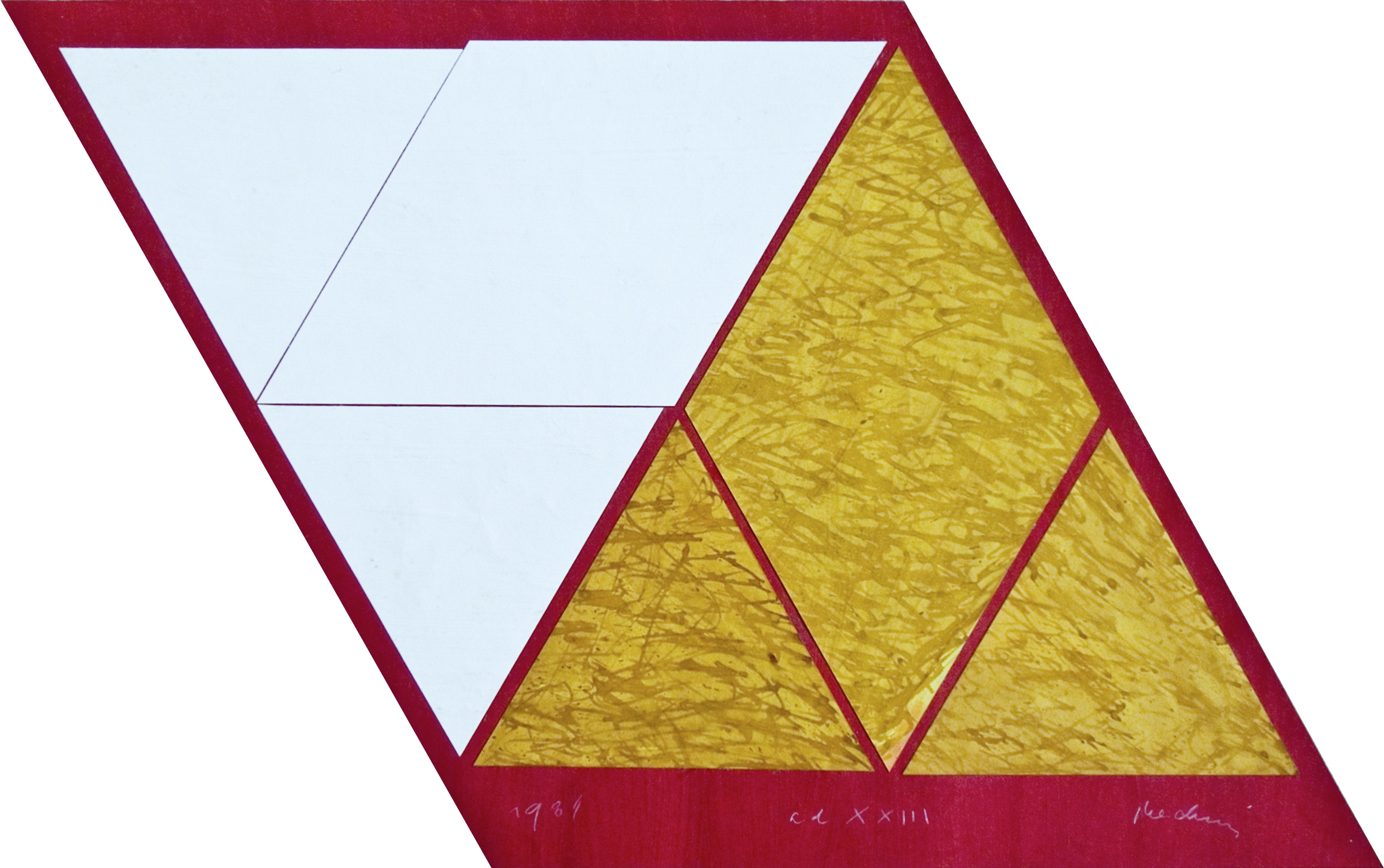 akril, papir, 1982