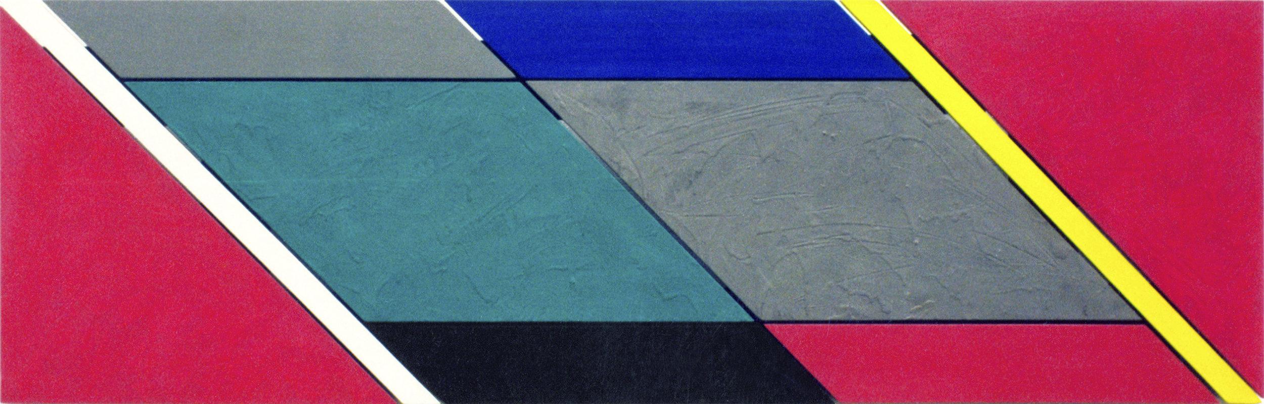 akril, les, 48 x 150 cm, 1986