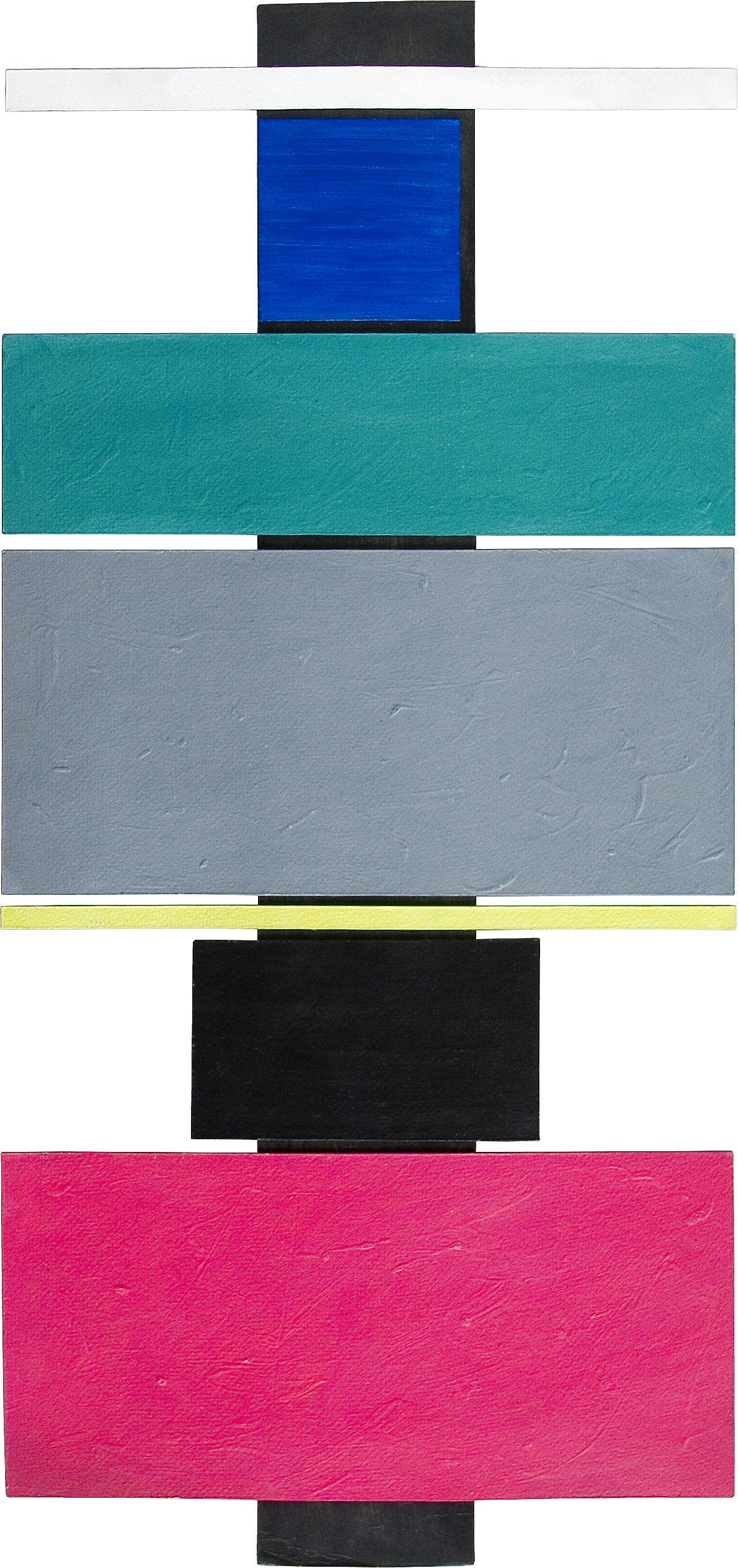 akril, papir, 100 x 48 cm, 1986