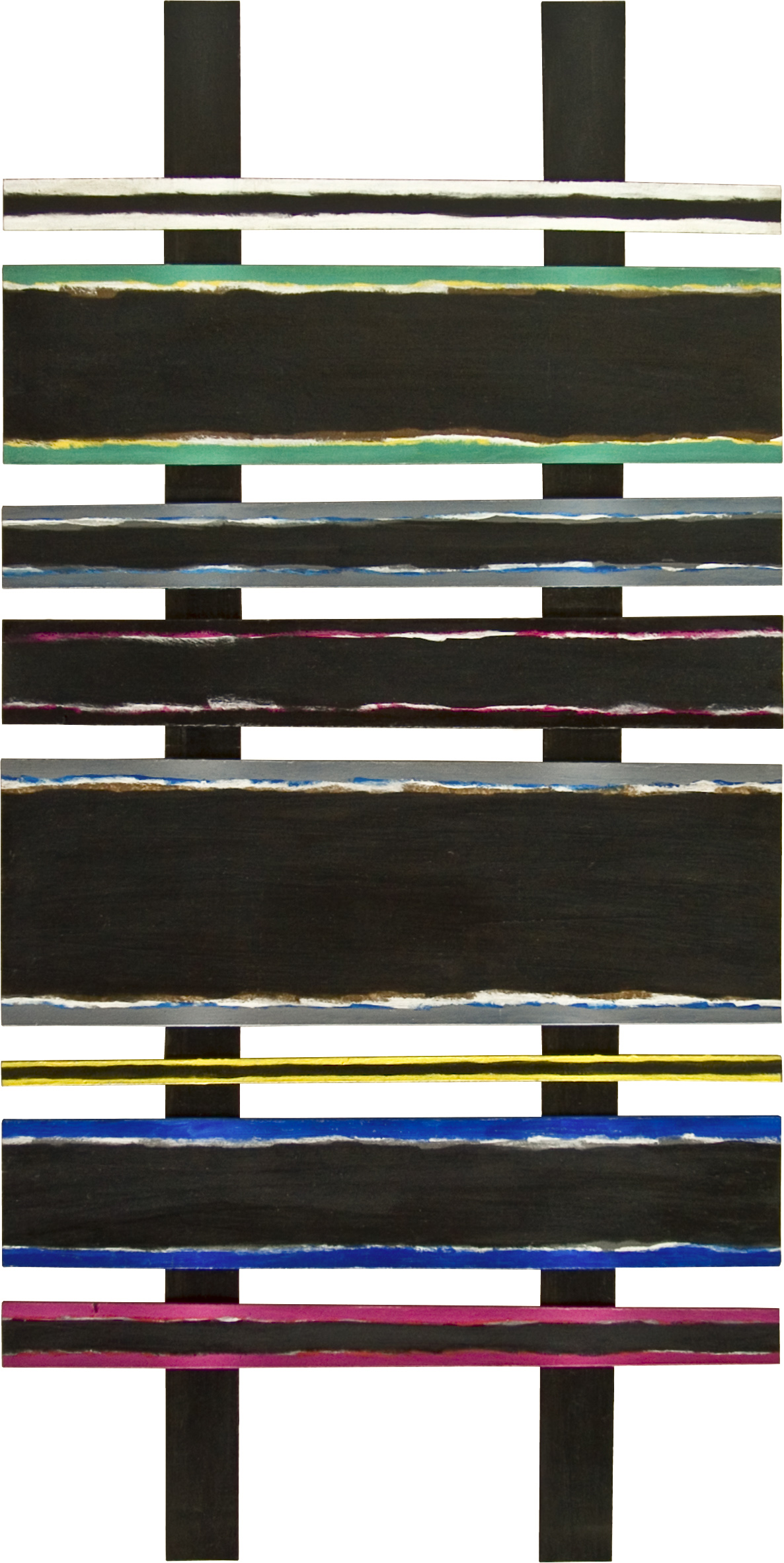 akril, papir, 57 x 100 cm, 1985
