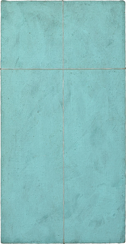akril, platno, 30 x60 cm, 1996