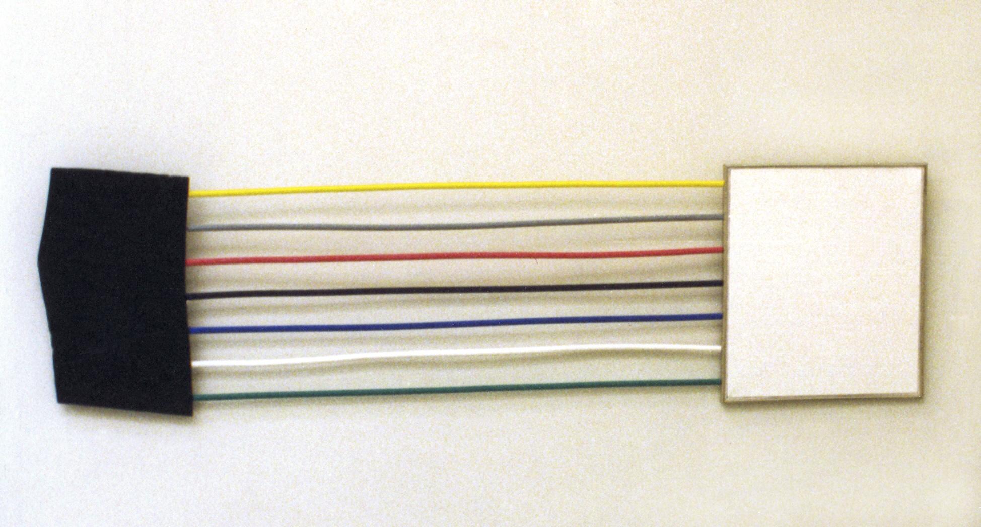 akril, platno, les, 64 x 192 cm, 1985