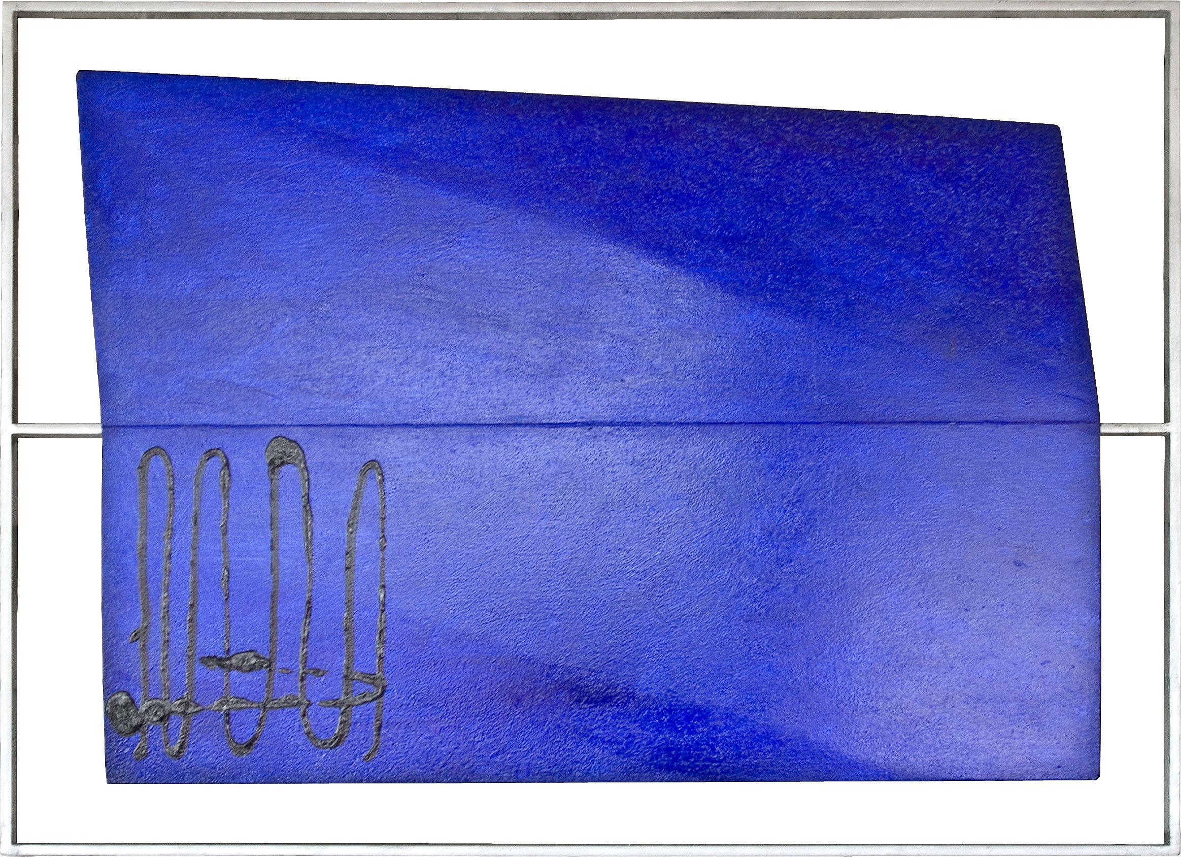 akril, les, 33 železo, 60 x 82 cm, 1994