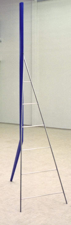 akril, les, aluminij, 70 x 120 x 260, 1994