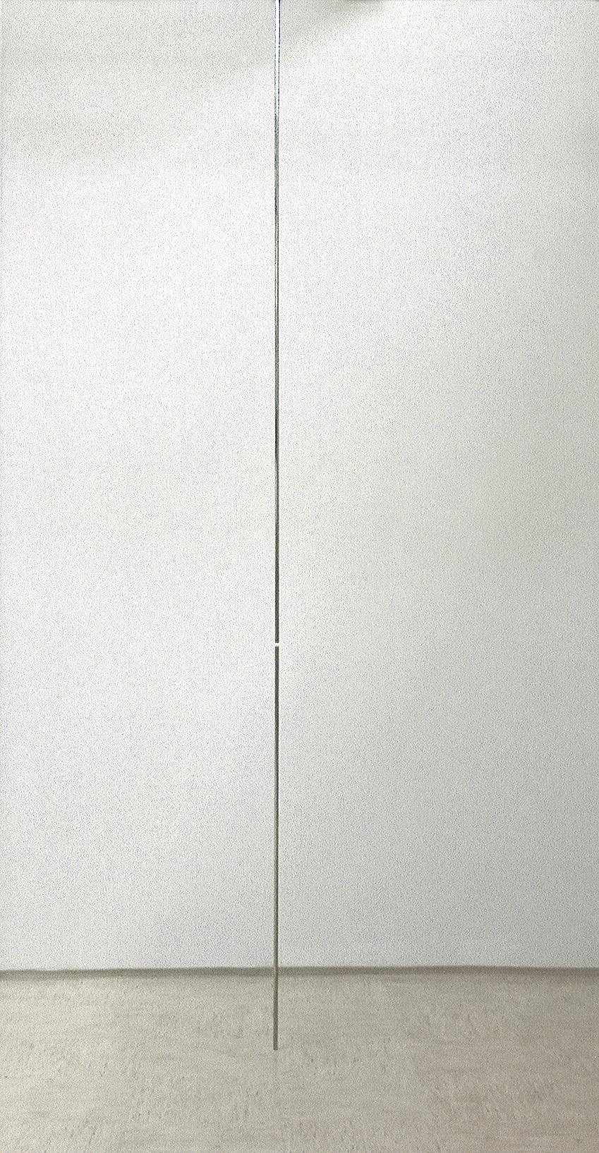 nerjaveče jeklo, 600 x 1,5 x 1,5  cm, 1998
