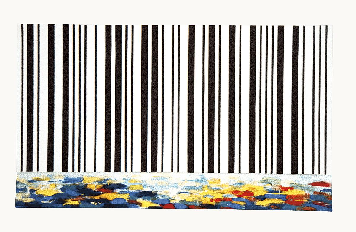 MuraCola , akril, les, 120 x 200 cm, 1997
