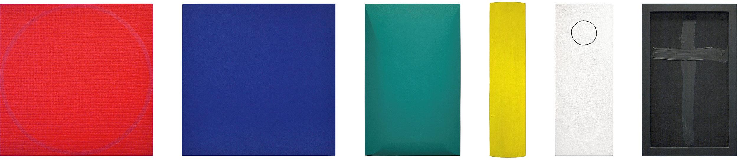 akril, les, 50 x ... cm, 2001