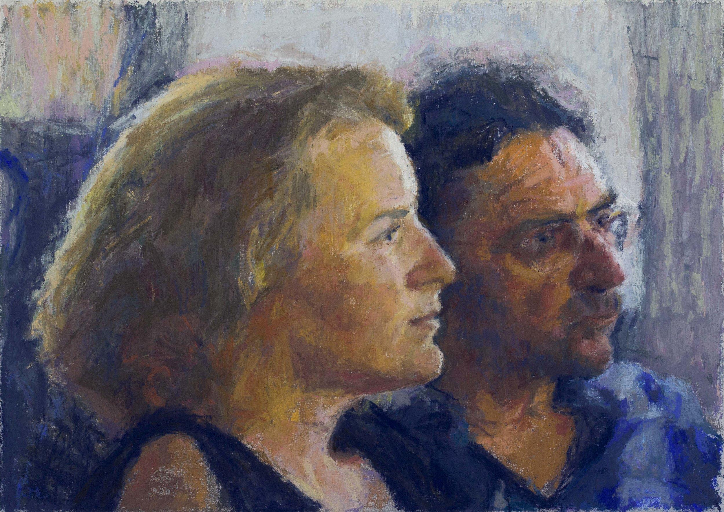 Dva iz Pečuha 38,5 x 53,5 cm