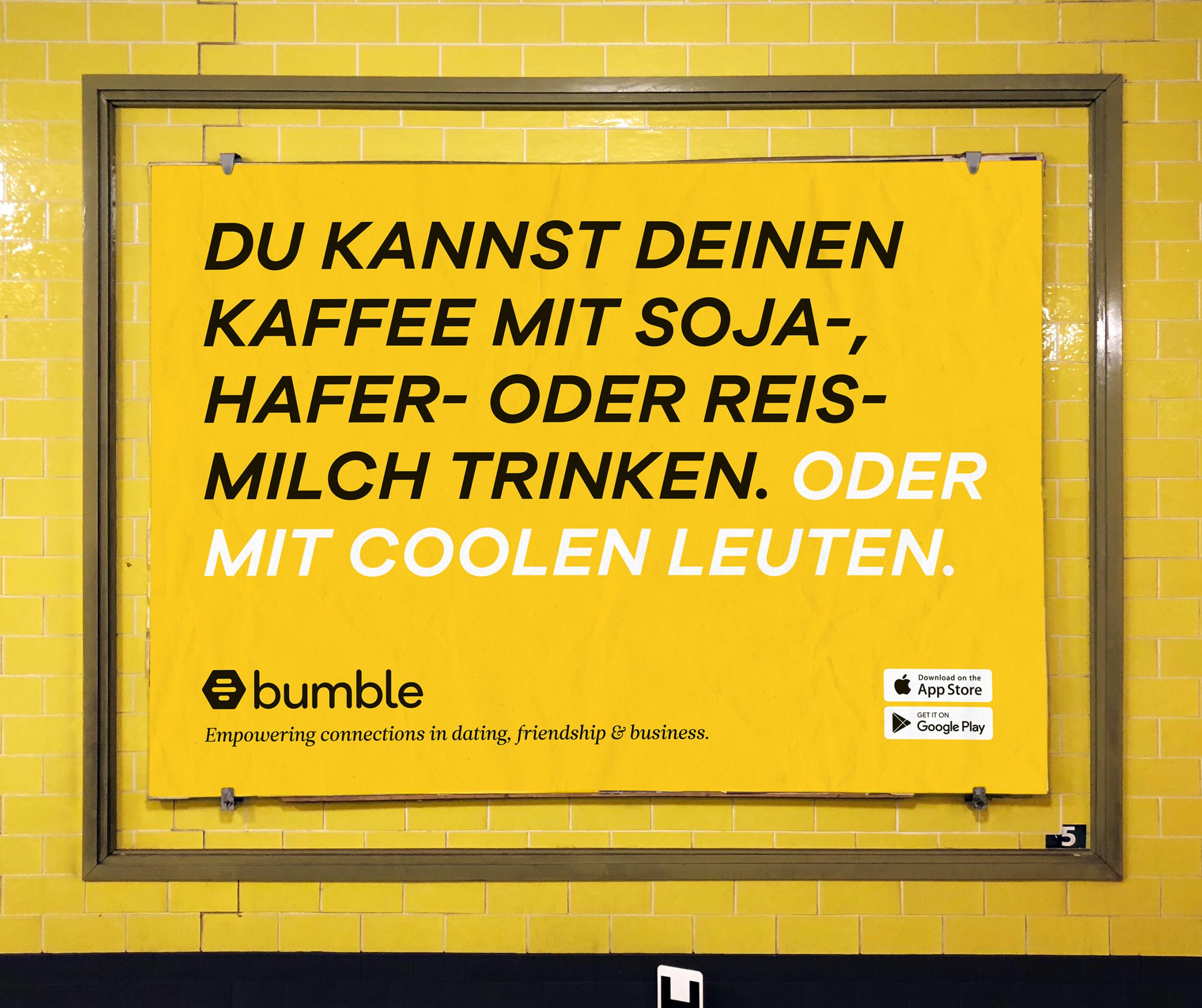 Bumble - Dejta, trffas, ntverka