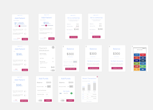 What it looks like… - Reworking the billing and payment flow to make it more doctor and patient-friendly.