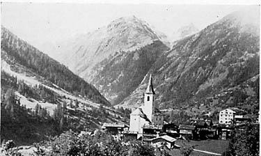 Поселение в долине Loetschental