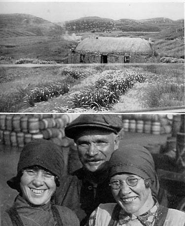 Жители островов Outer Hebrides