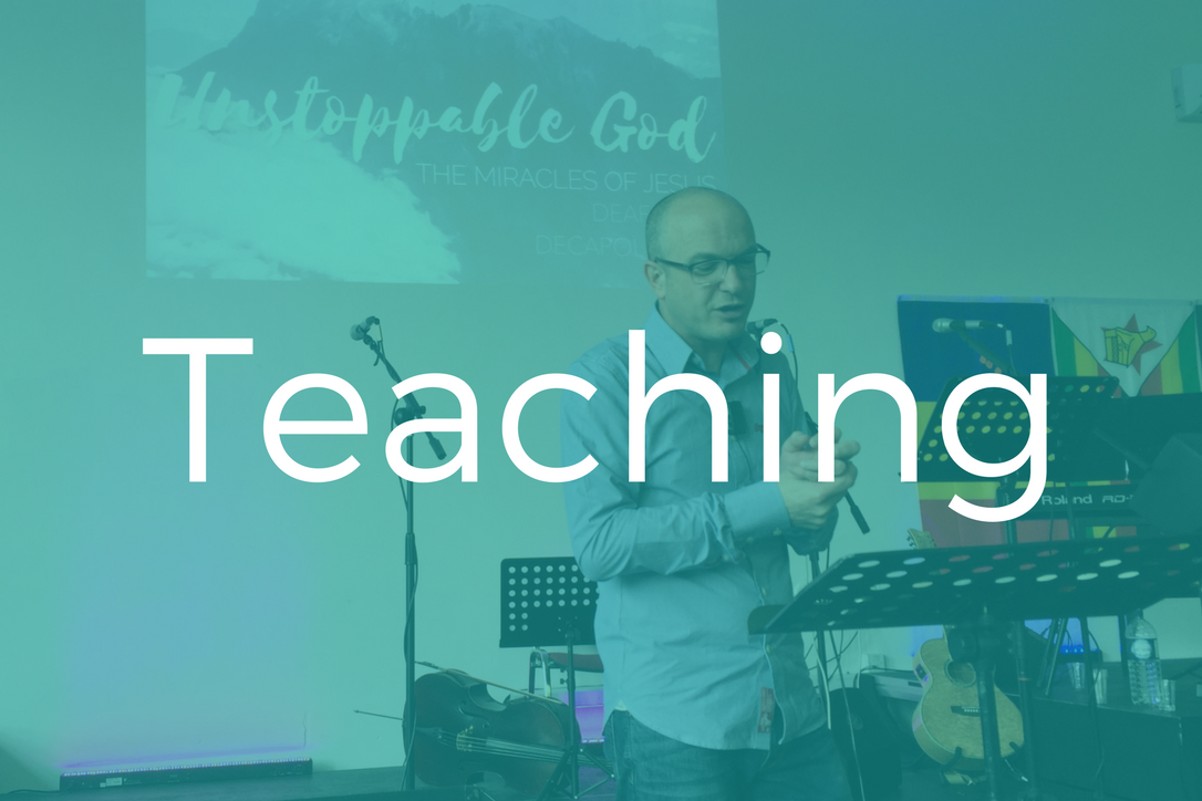 10:40 - One of our skilled teachers will preach from the Bible.