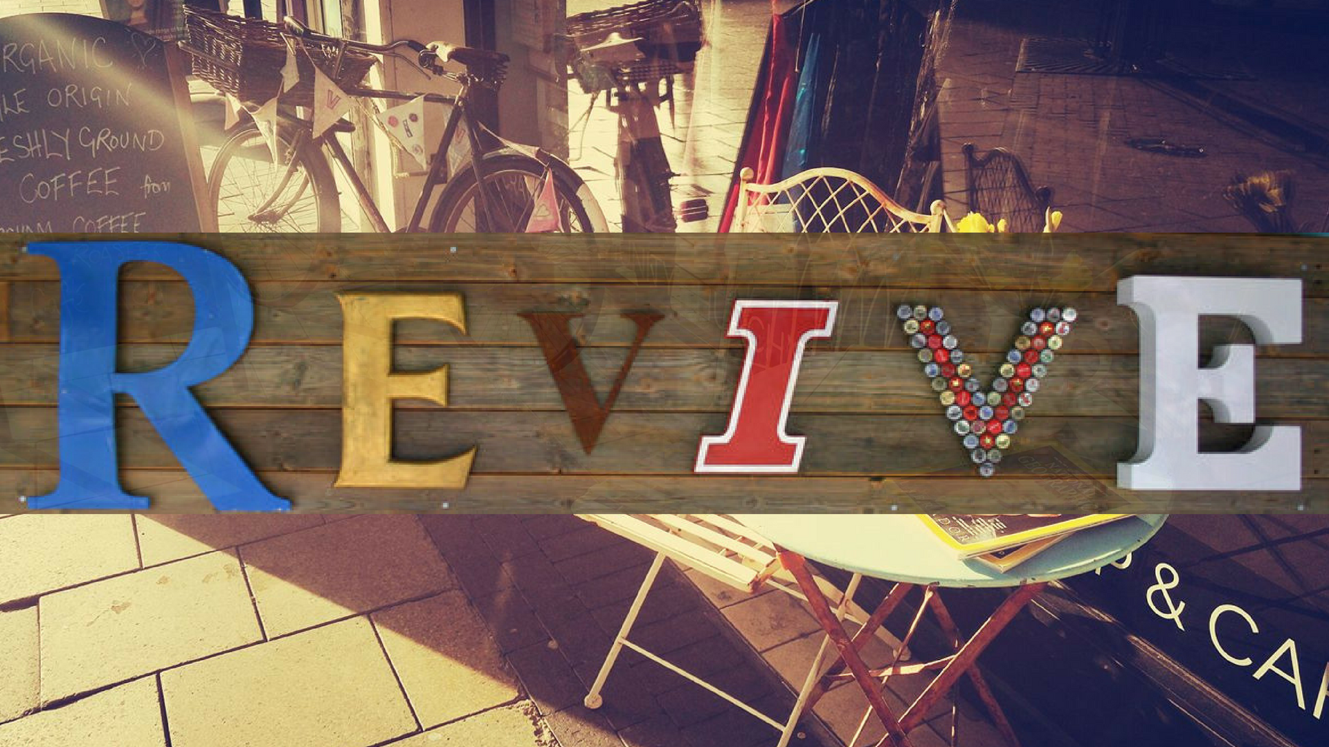Revive Charity Shop & Cafe - Monday-Saturday09:30-17:30