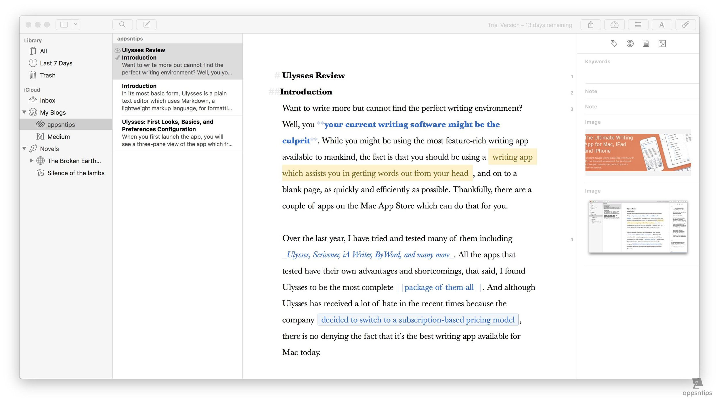 Reference Notes and Images in Ulysses 2.jpg