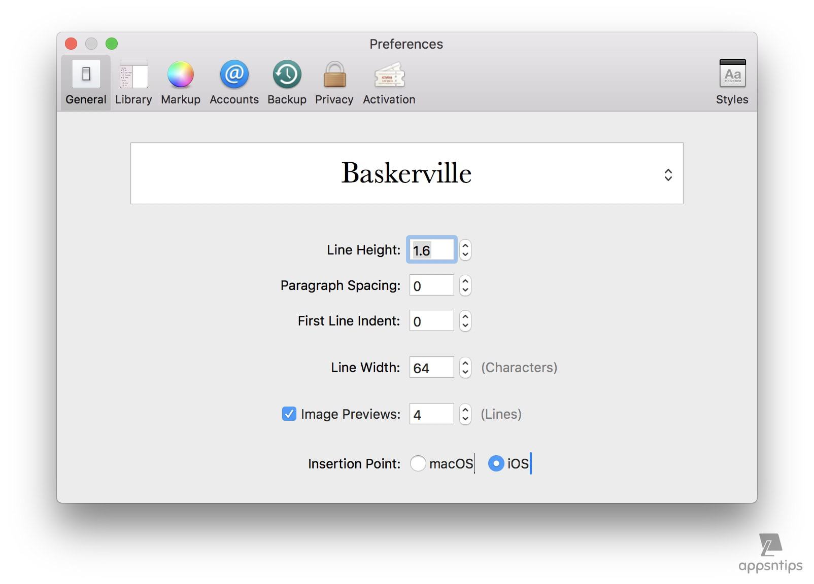Ulysses: First Looks, Basics, and Preferences Configuration 4.jpg