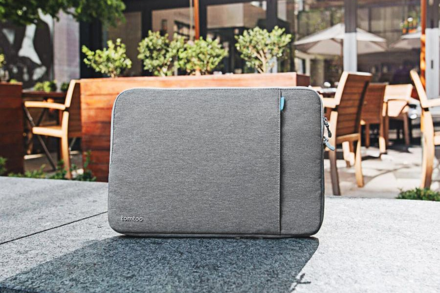 3. 10 Best MacBook Pro and MacBook Air Accessories - Tomtoc 360° Protective Laptop Sleeve for MacBook Pro