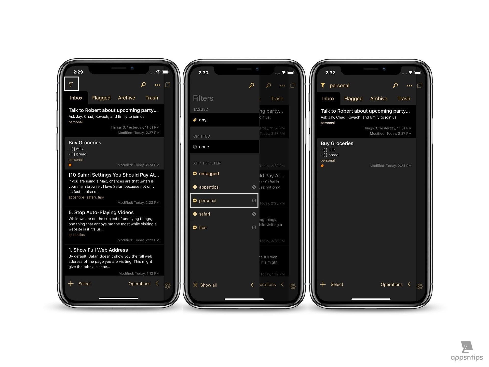 Drafts 5 Review - Organizing Your Drafts using Drafts List 3.jpeg