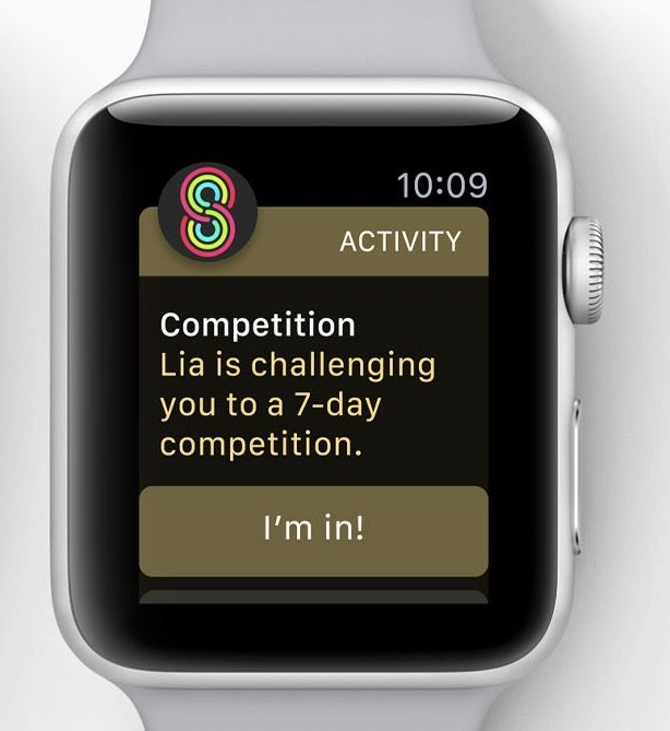 1. Activity Competitions in watchOS 5