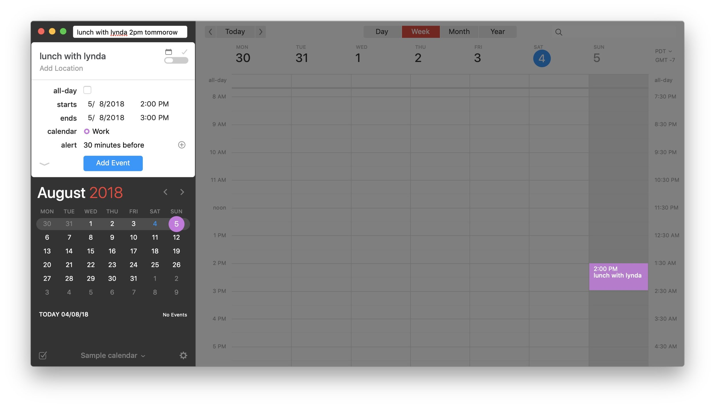Fantastical 2 Review - Creating Events and Reminders 2.jpg