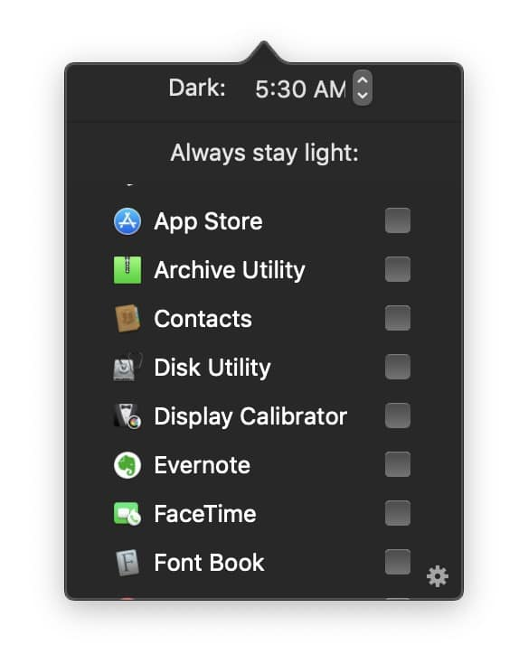 Evernote in NightOwl