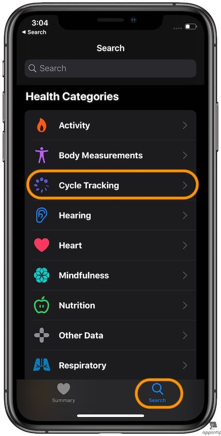 How to Set up Menstrual Cycle Tracking in Apple Health in
