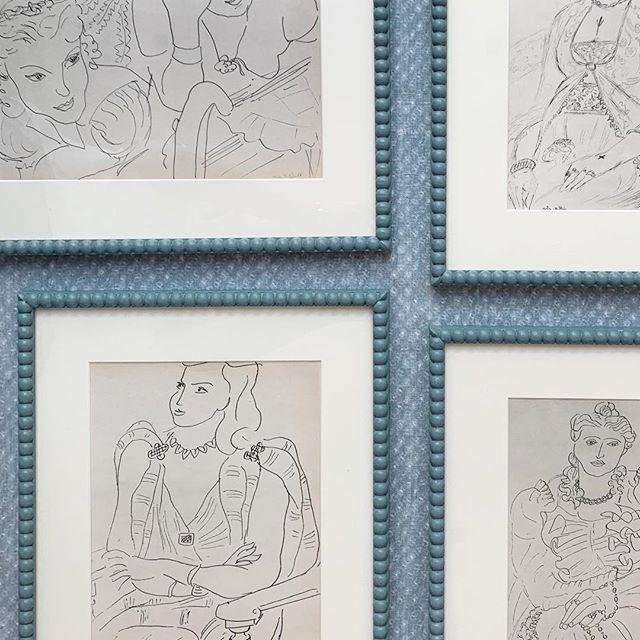 Pretty new frames #art #bespoke #detailing