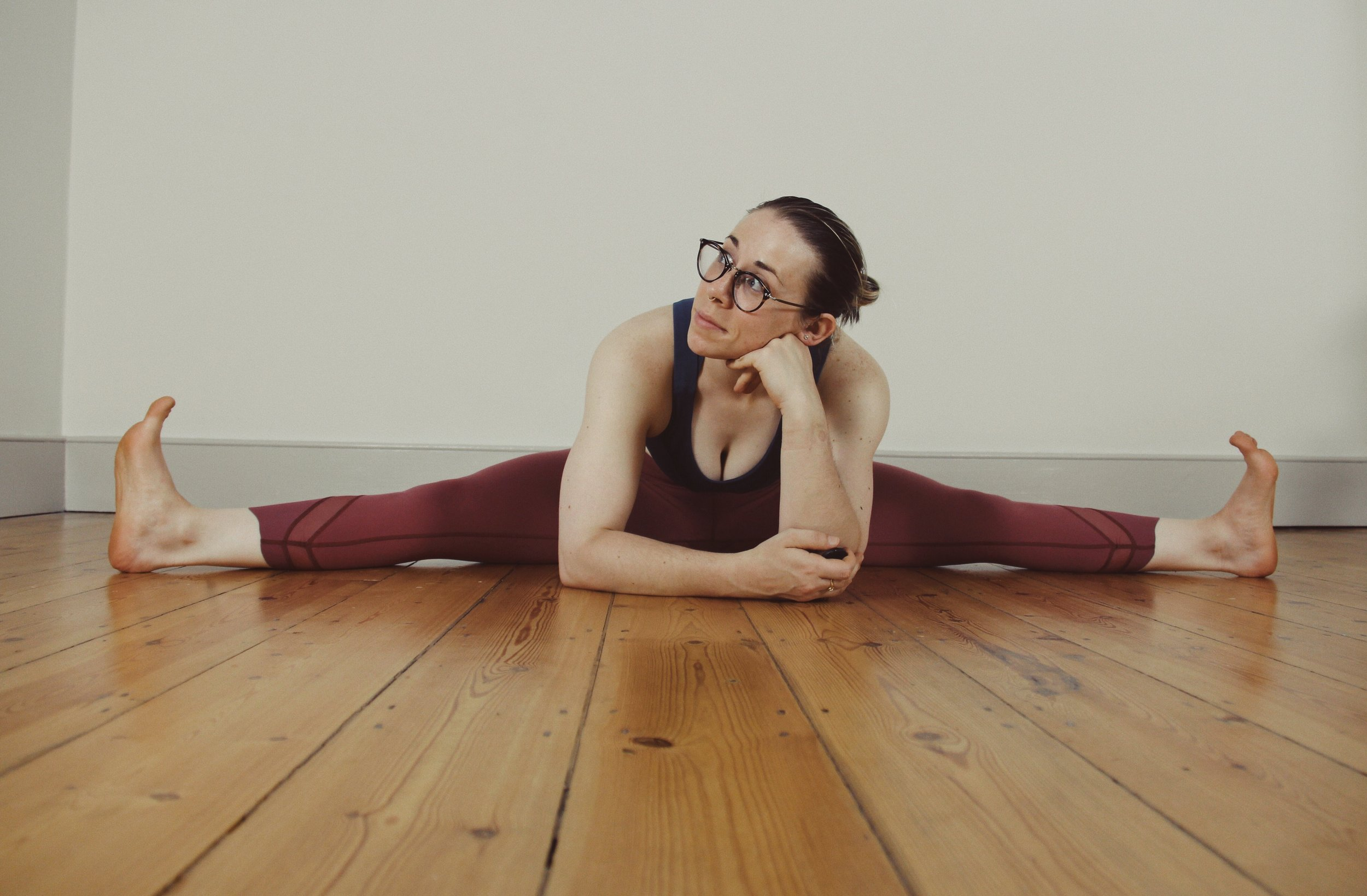 Third new addition: 'Desk Correction Yoga' every Wednesday from 6.35-7.25pm - Location: CitySport, 124 Goswell Rd, Clerkenwell, London, EC1V 7DP