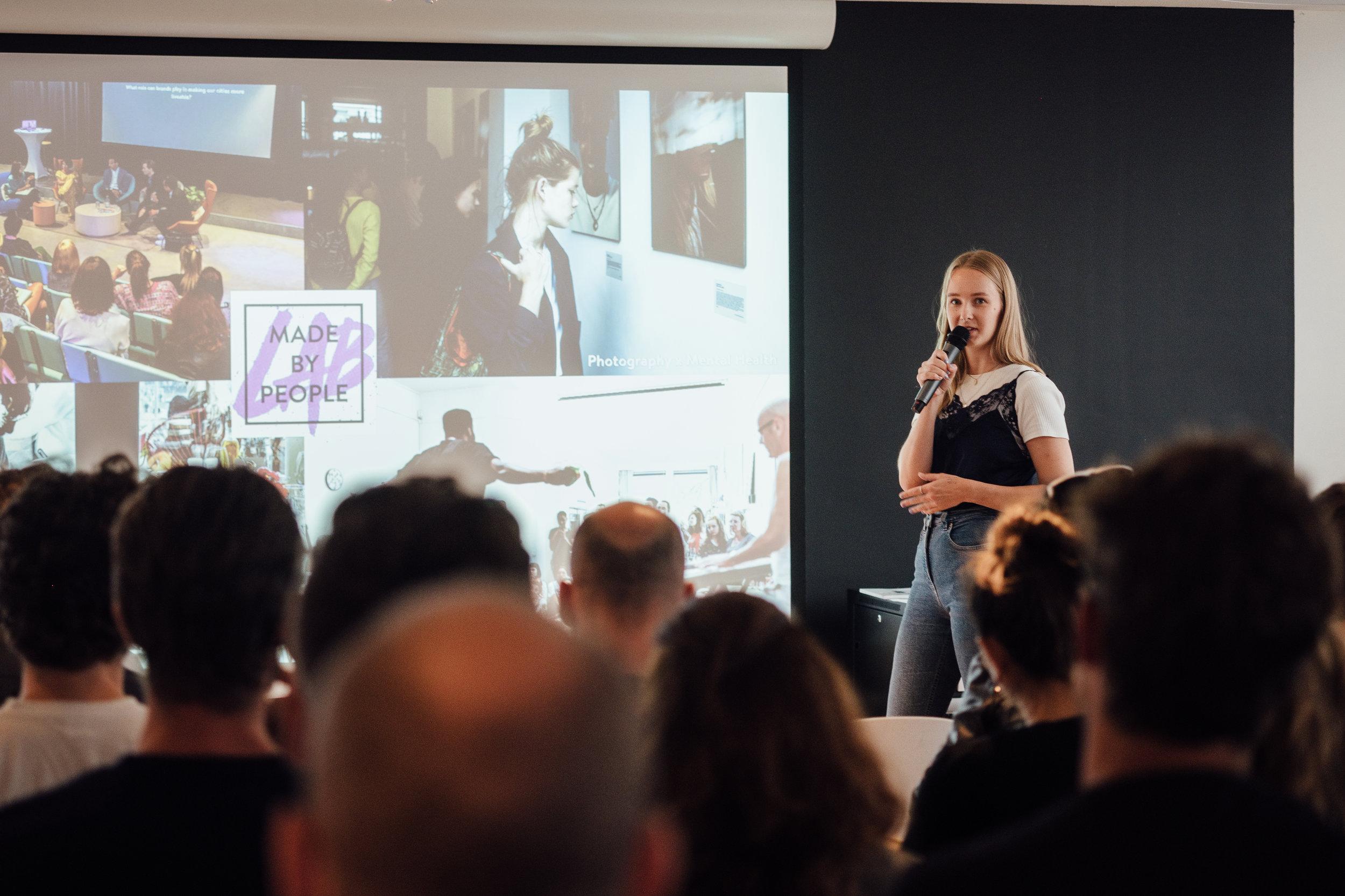 Amsterdam Speaker event/ workshop