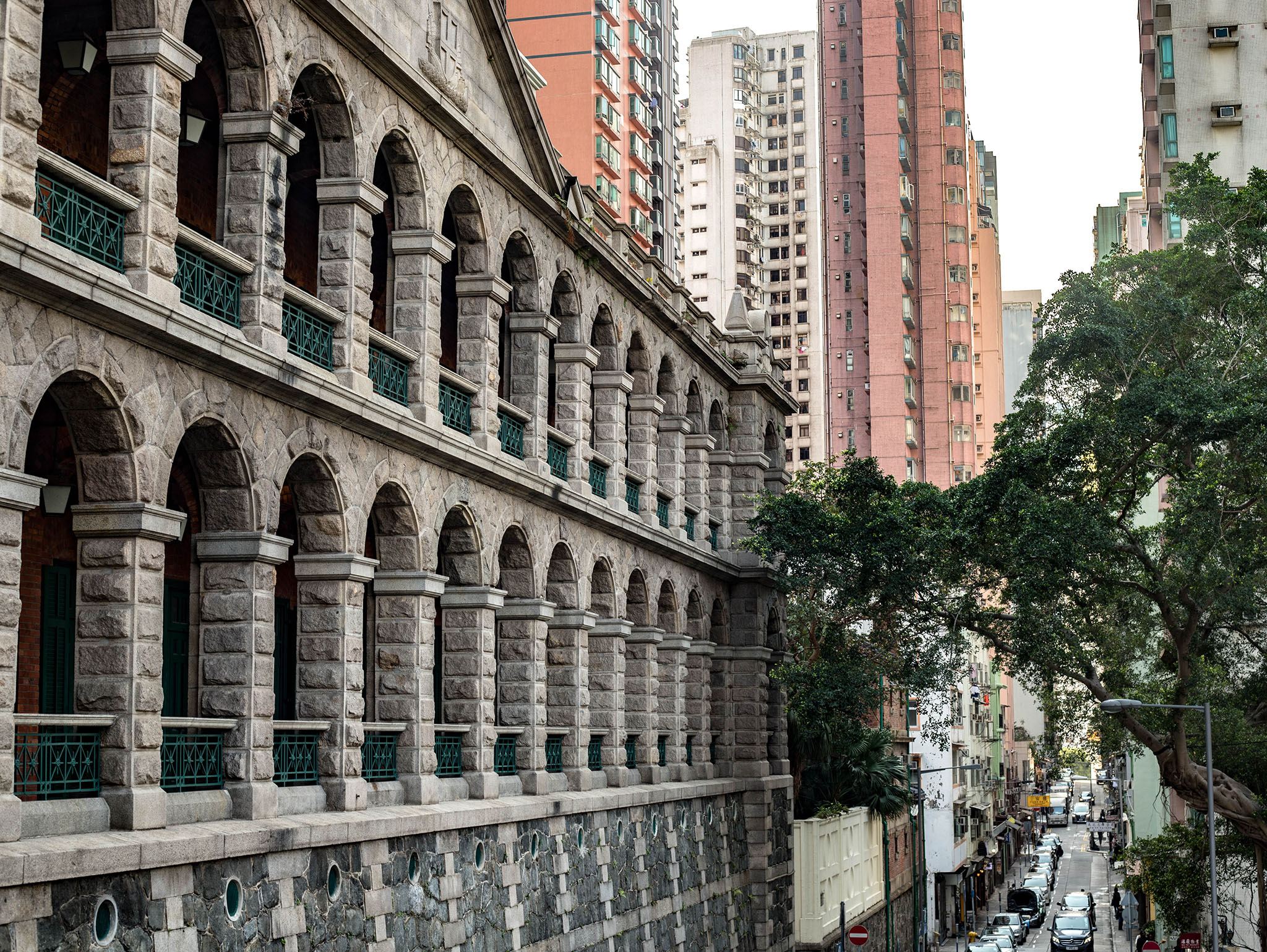 Sai Ying Pun Community Complex, A Declared Monument