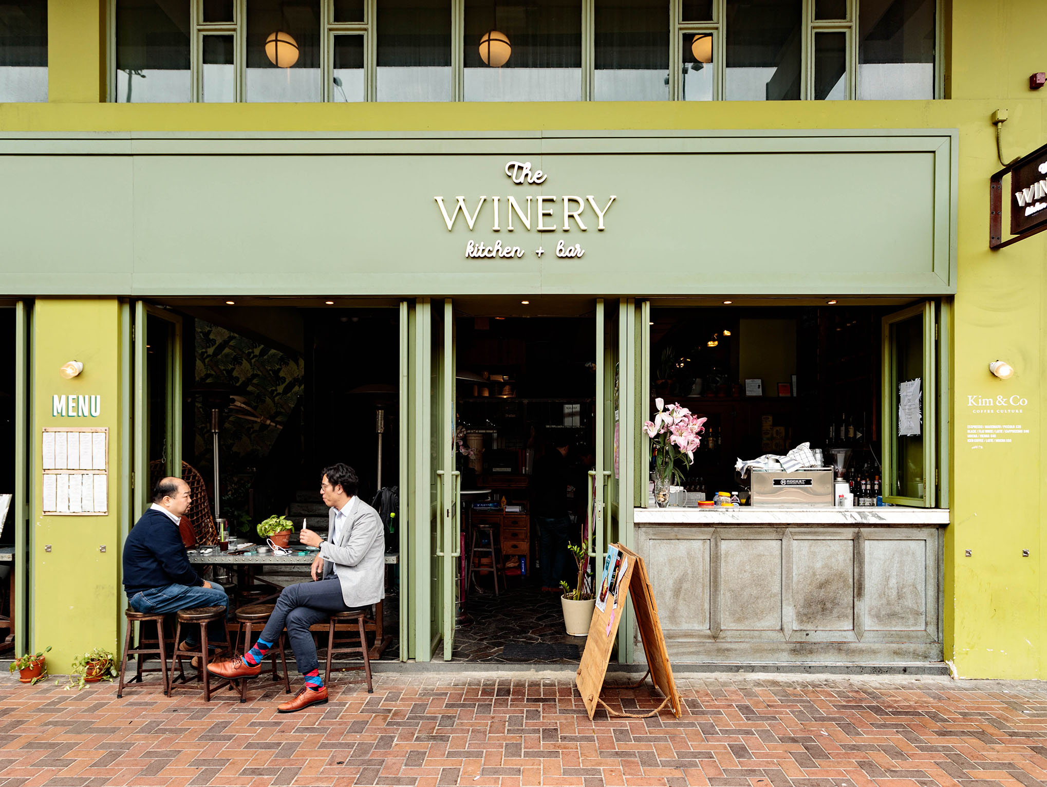 The Winery Kitchen, a cozy restaurant that provides all day dining and drinking