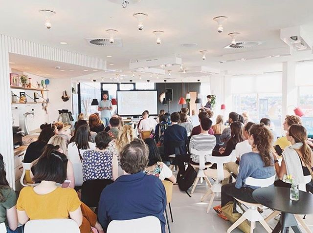 "Reflecting back on last Thursday, where @amsterdam_madebypeople hosted their Amsterdam Talks series at @livezoku w the question: ""How Green is Amsterdam?"". A great turn out of engaged citizens and an ace line-up of green initiatives. 🌳 Image by @imagineve 👌🏼"