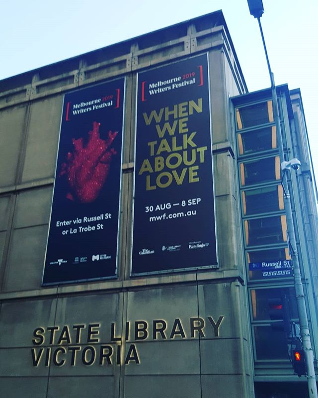 Getting some inspiration @melbwritersfest #melbournemadebypeople . . . . . #MWF19 #melbournewriters #melbourne #melbournecity #statelibrary #melbournelibrary #melbournefestival #whatsonmelbourne #melbourneguide #melbournearchitecture #melbournebuildings #acitymadebypeople