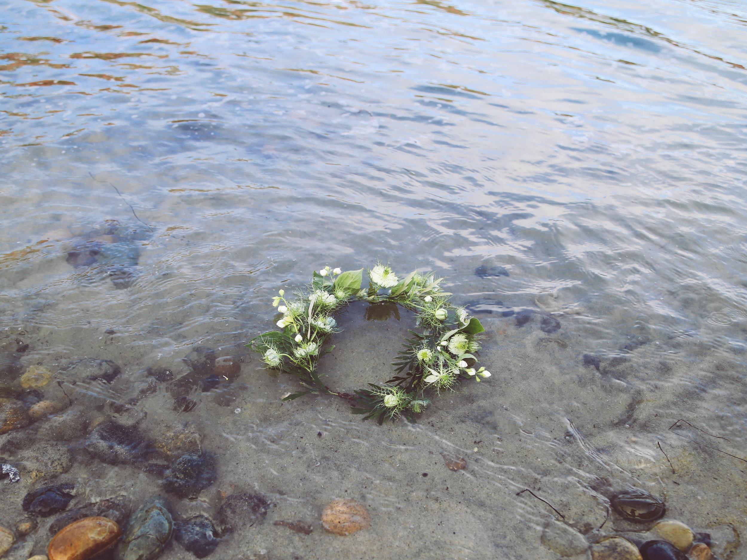 Kate Neve Flower Crown July 2017