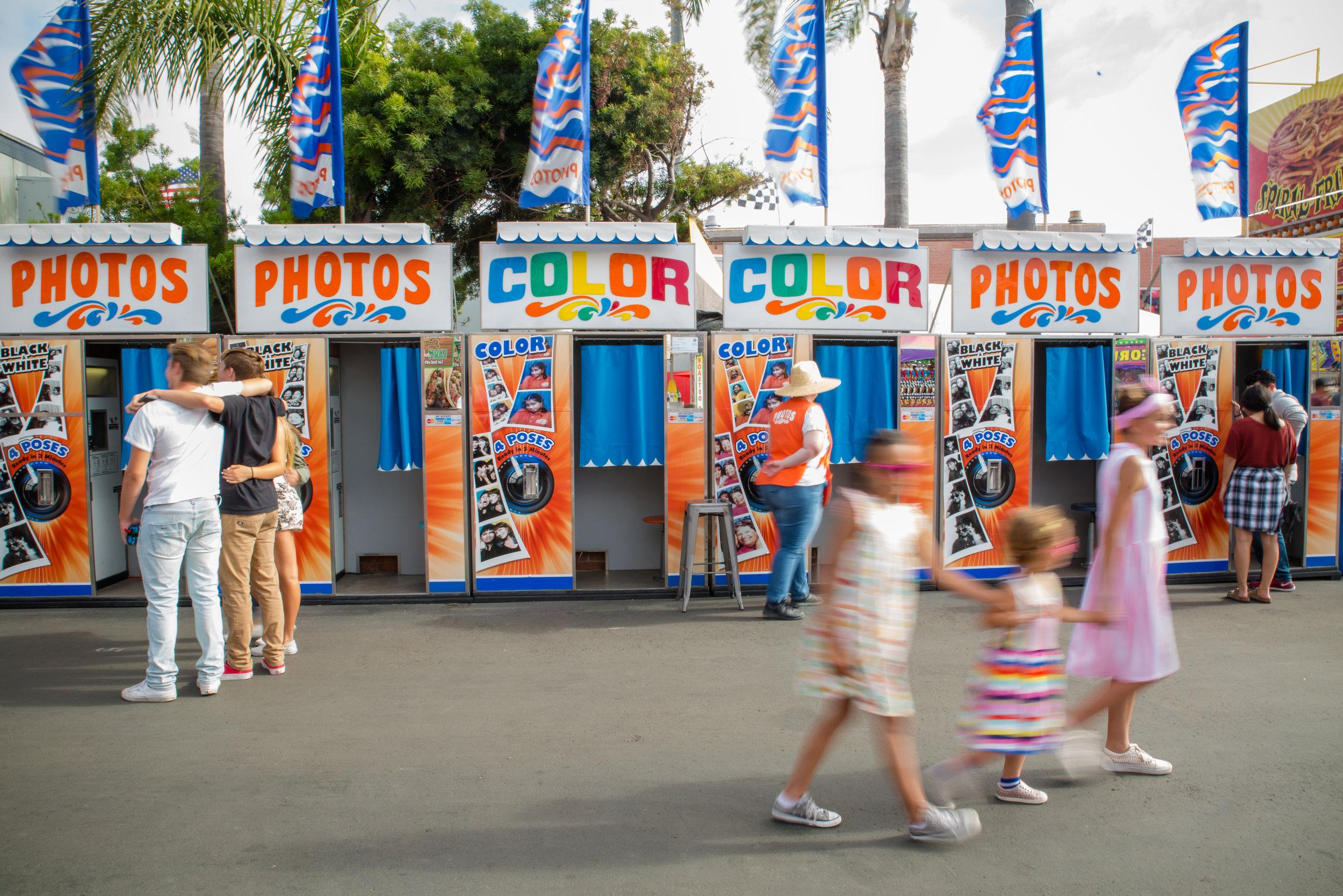 San Diego County Fair Photo Booth